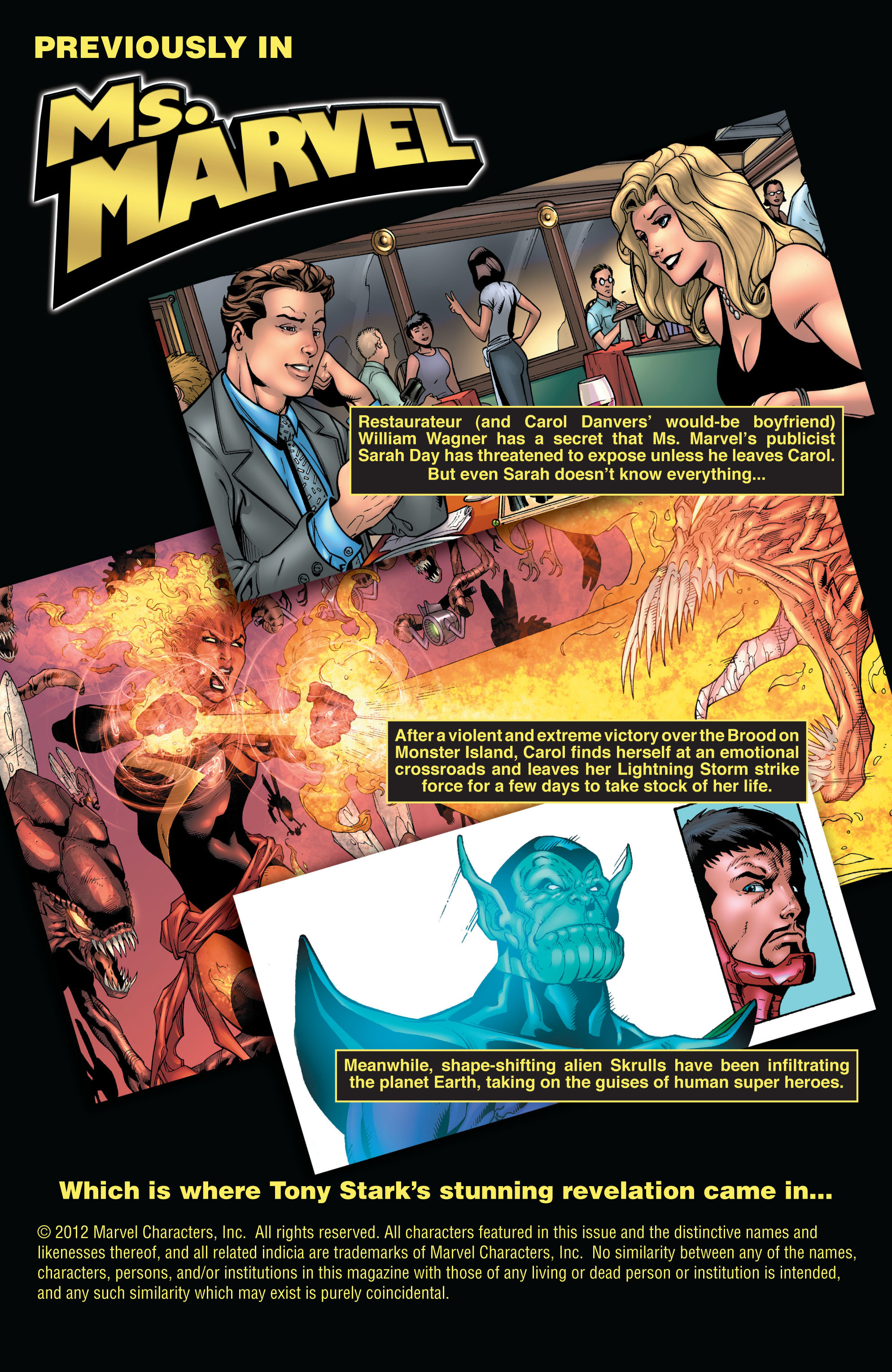 Read online Secret Invasion: The Infiltration comic -  Issue #8 - 2
