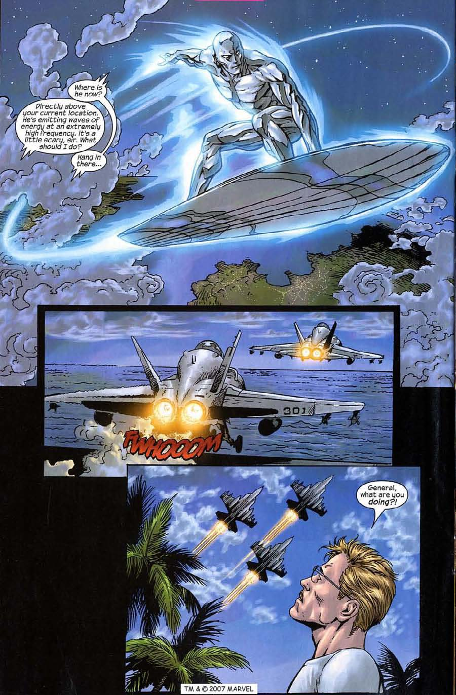 Read online Silver Surfer (2003) comic -  Issue #10 - 20