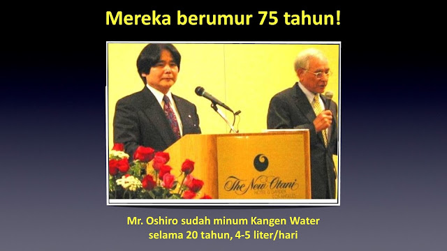 efek antioksidan kangen water