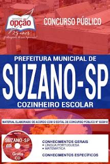 Download Apostila Concurso Prefeitura de Suzano 2018 PDF