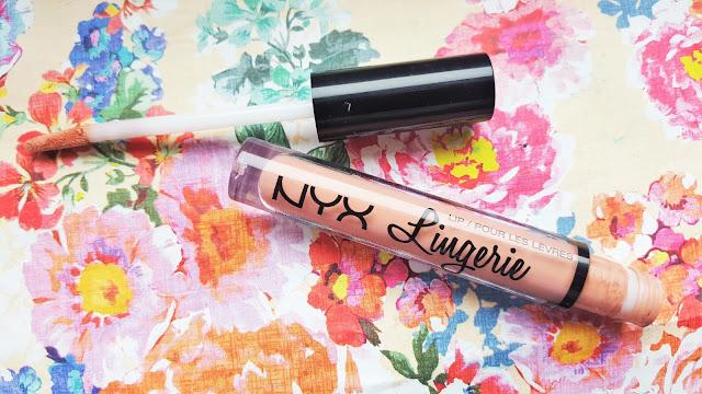 NYX Lingerie Liquid Lipstick Review