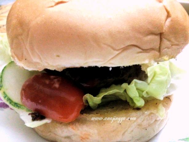 Cara buat homemade burger patty