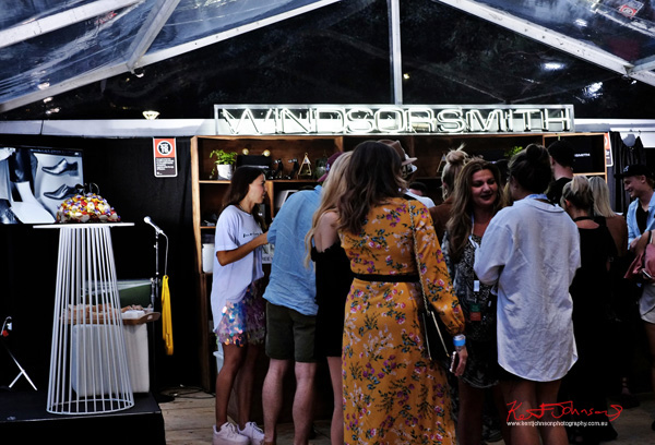 Cake and bar, good to go. Windsor Smith Celebrates 70 years at #HarbourLife Sydney 2016. Photographed by Kent Johnson for Street Fashion Sydney.