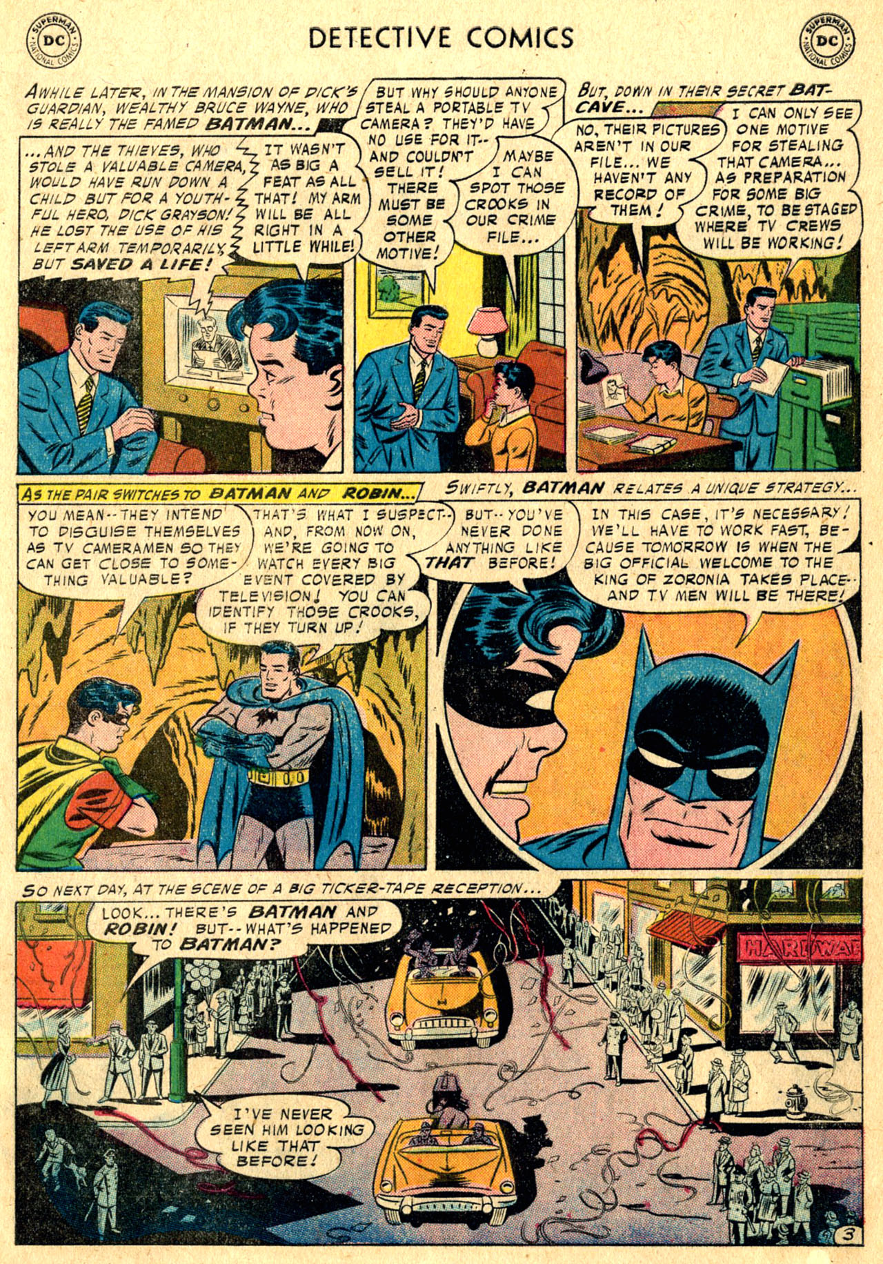 Read online Detective Comics (1937) comic -  Issue #241 - 5