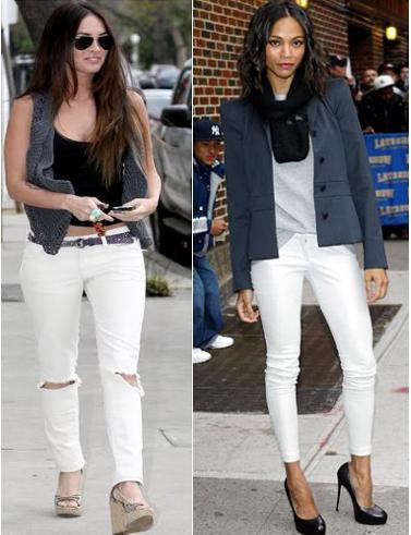 1a8fb06d Los pantalones largos siempre será un must have en todas las temporadas y  en un color como el blanco será una apuesta segura. Solo toma en cuenta que  el ...