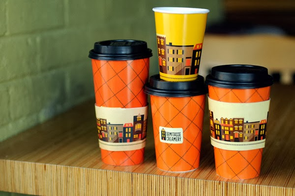 orange Cool Designs of Coffee Cups