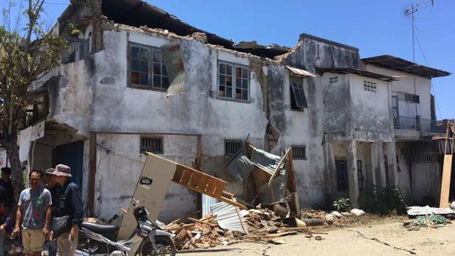 Warga Donggala Kisahkan Ngerinya Saat Tsunami Datang