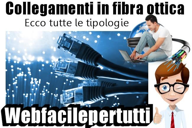 Collegamenti In Fibra Ottica - Ecco Tutte Le Tipologie