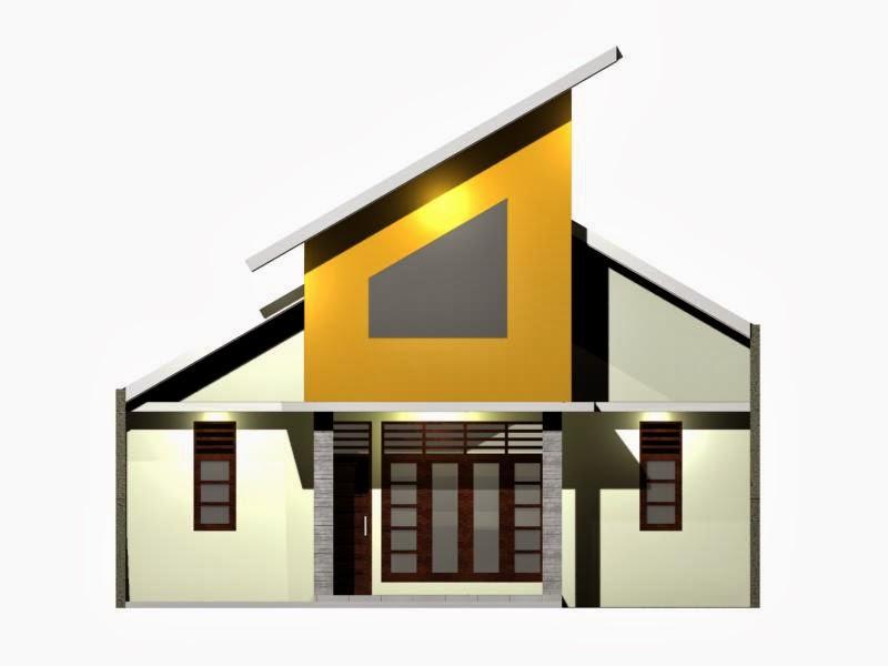 Inspirasi Desain Rumah Anda: Desain Rumah Atap Miring