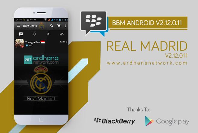 BBM Real Madrid V2.12.0.11 Apk Terbaru ~ GETPCGAMESET
