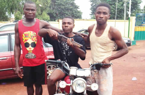 Three-Man Robbery Gang Busted By Police (Police)