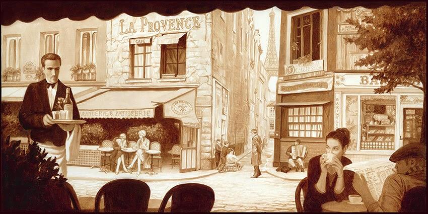 01-Paris-Karen-Eland-The-World-Through-Coffee-Paintings-www-designstack-co
