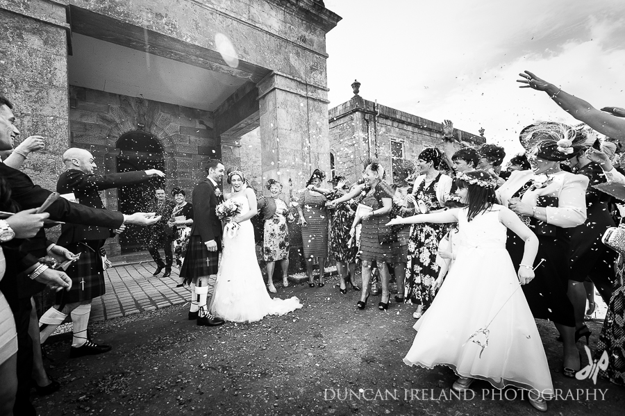 Claire & Michael's Springkell Wedding by Duncan Ireland