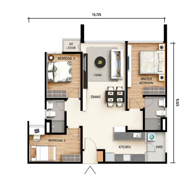 Floor Plan Feng Shui April 2016