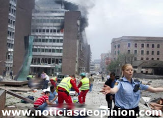 Atentado terrorista: vídeo de la masacre en Utoya y #Oslo (Noruega)