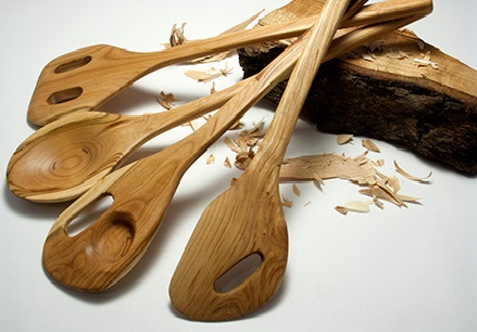 A wooden spoon is a timeless and indispensible tool in the kitchen.Made with sustainably harvest..