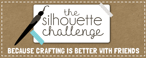 Silhouette Challenge, Crafting, Graphic, Button