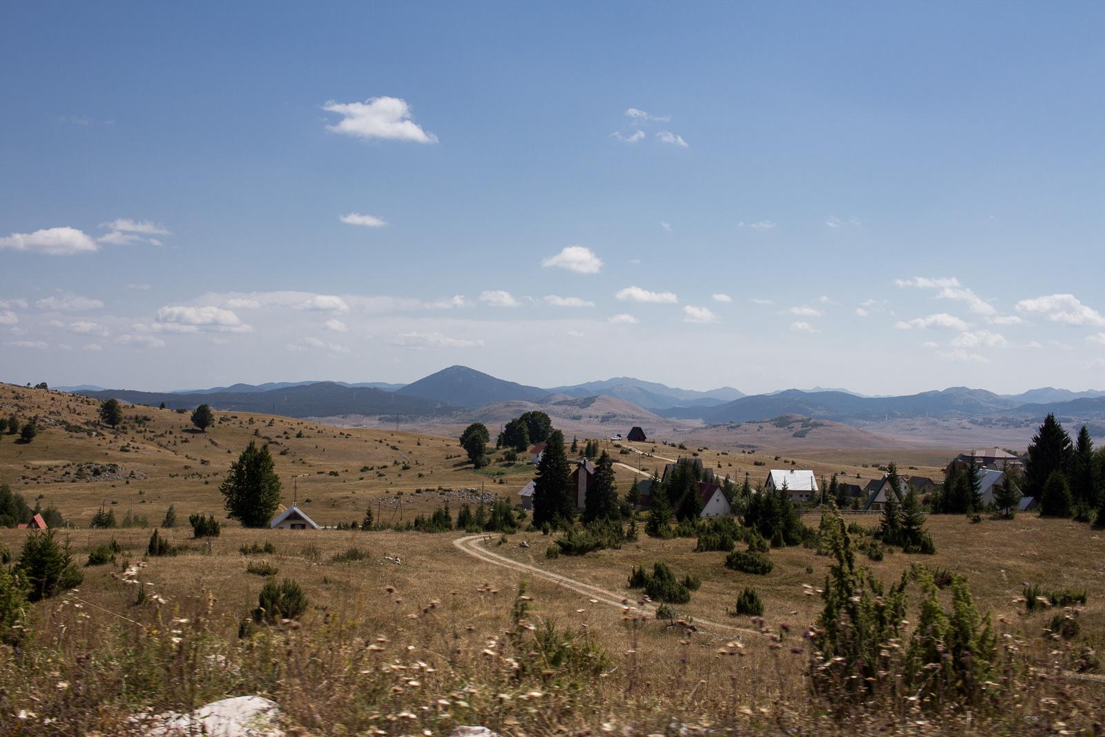 Landschaft in Zabljak (Montenegro)