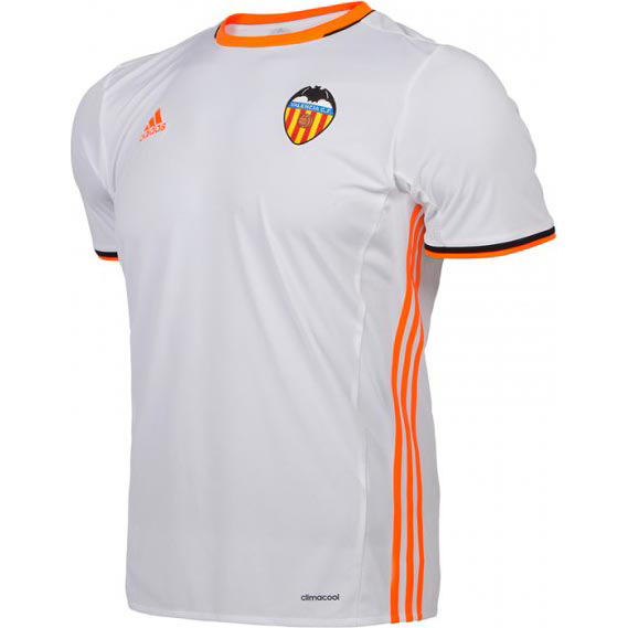 Camiseta de fútbol baratos equipacion: Nueva camiseta Valencia 2017 ...