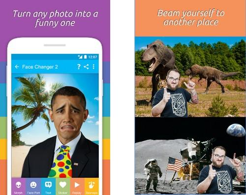 Face Changer 2 - Δωρεάν εφαρμογή για να φτιάχνεις αστείες φωτογραφίες