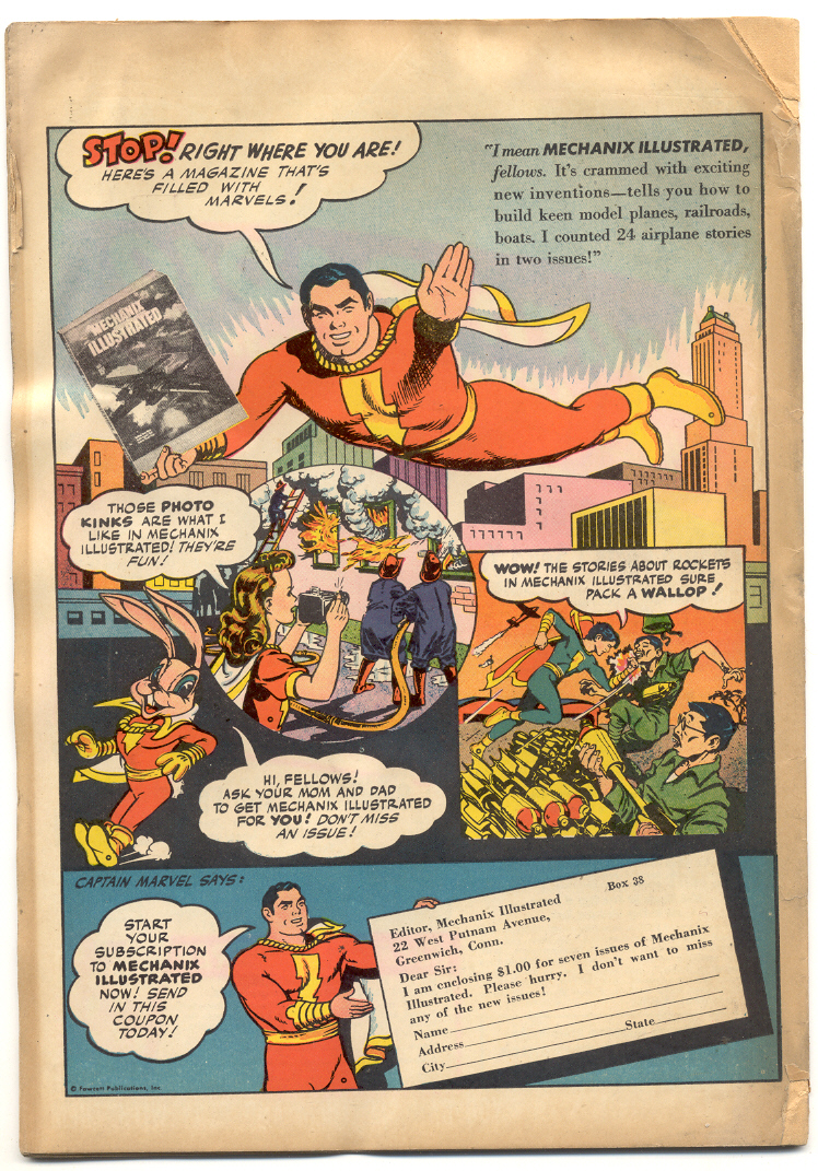 WHIZ Comics issue 69 - Page 36