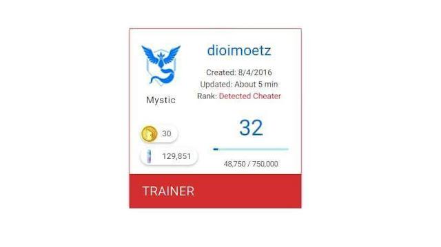 Cara Mengetahui Status Akun Pokemon GO, Cara Mneggunakan PokeAdvisor, Cara Mengetahui Akun Pokemon GO Akan Terbanned, Cara Mengetahui Agar Akun Pokemon GO Cheater Hasil BOT.