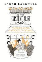Book cover for Sarah Bakewell's At the Existentialist Café in the South Manchester, Chorlton, and Didsbury book group