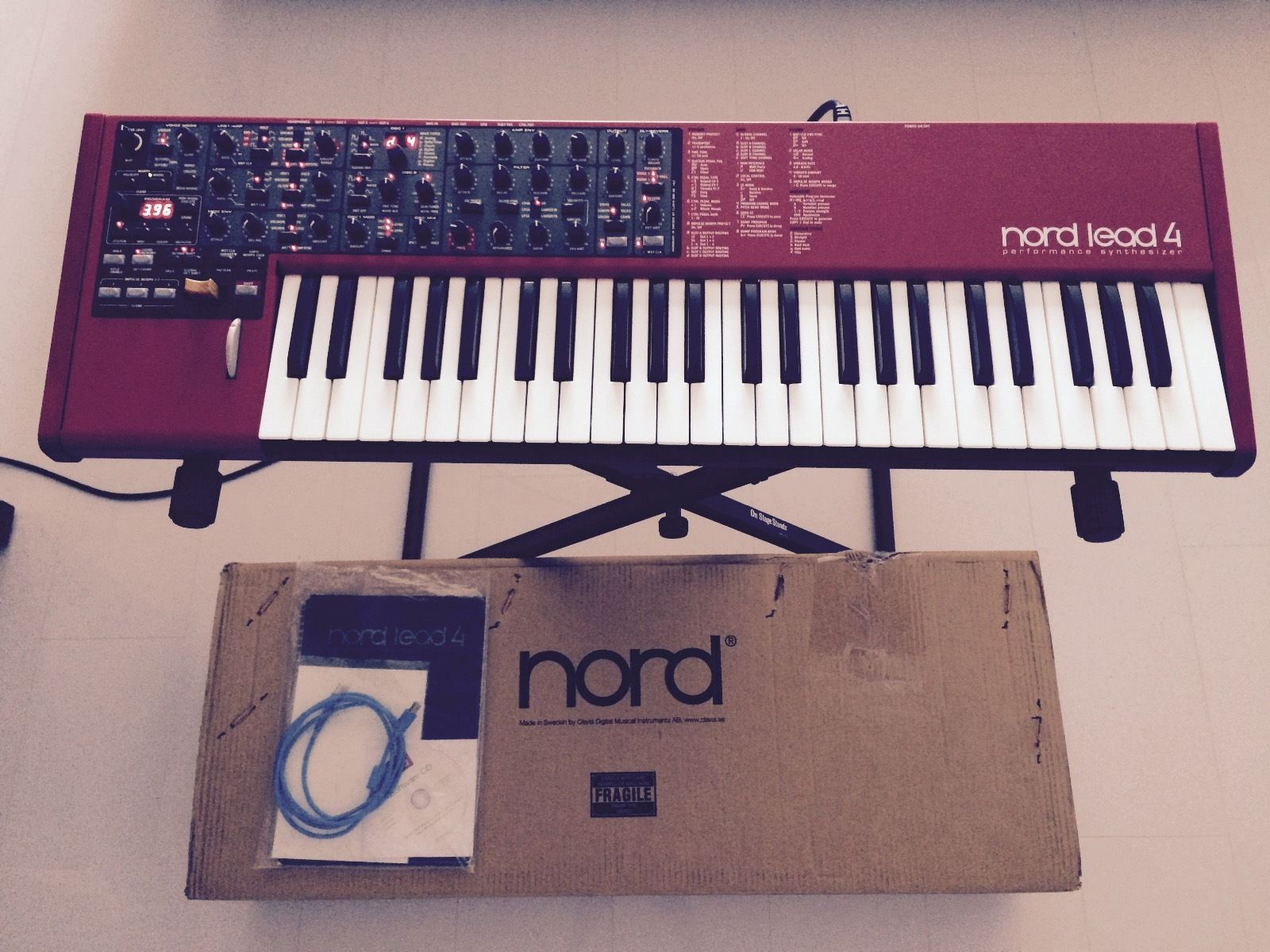 matrixsynth nord lead 4. Black Bedroom Furniture Sets. Home Design Ideas