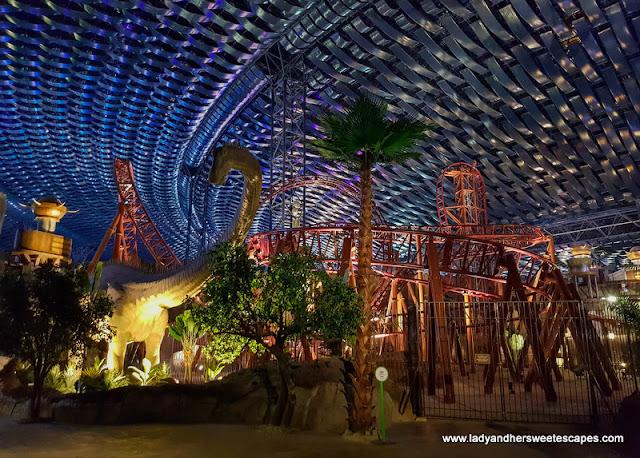 dinosaur at IMG Worlds of Adventure