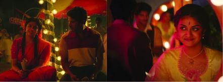 Dulquer Salman and Keerthy Suresh in Mahanati