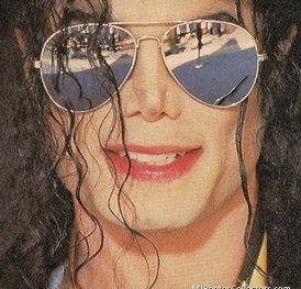 Michael Jackson Wearing Shades
