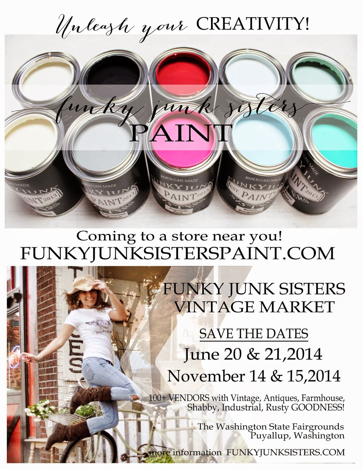 """""""Junk Salvation"""" by Funky Junk Sisters"""