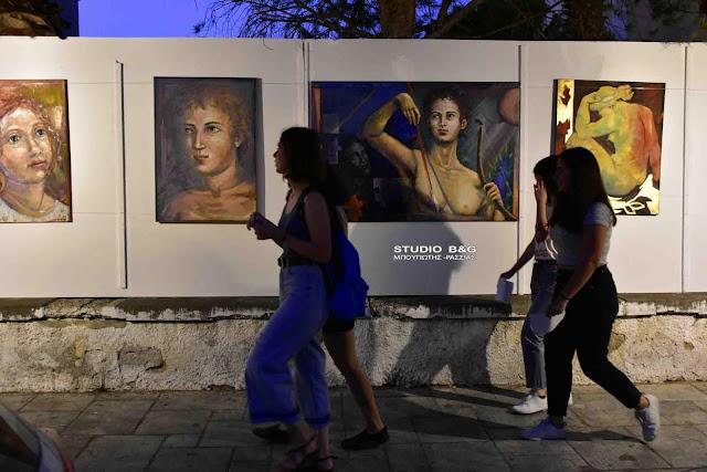 """Κάλεσμα σε Ναυπλιώτες καλλιτέχνες για συμμετοχή στην Έκθεση ζωγραφικής της """"Ναυτικής Ναυπλιάδας 2019"""""""