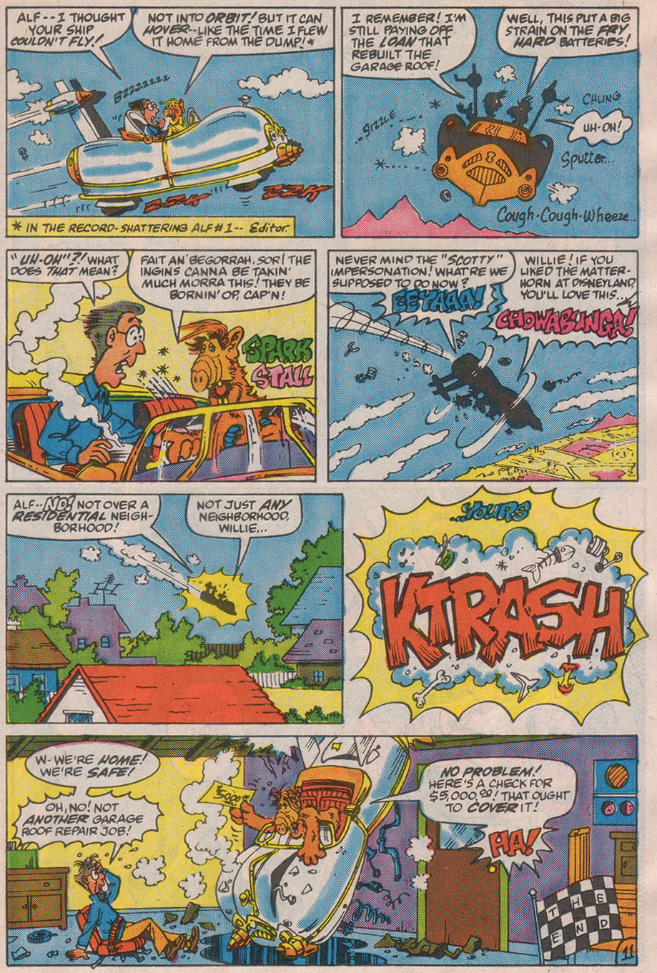 Read online ALF comic -  Issue #13 - 17