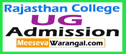 Rajasthan College Jaipur B.A Admission 2018