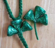 hershey kiss shamrocks