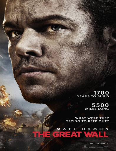 Ver La gran muralla (The great wall) (2017) Online