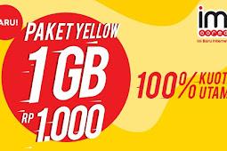 Cara Cek Kuota Paket Yellow Indosat Im3