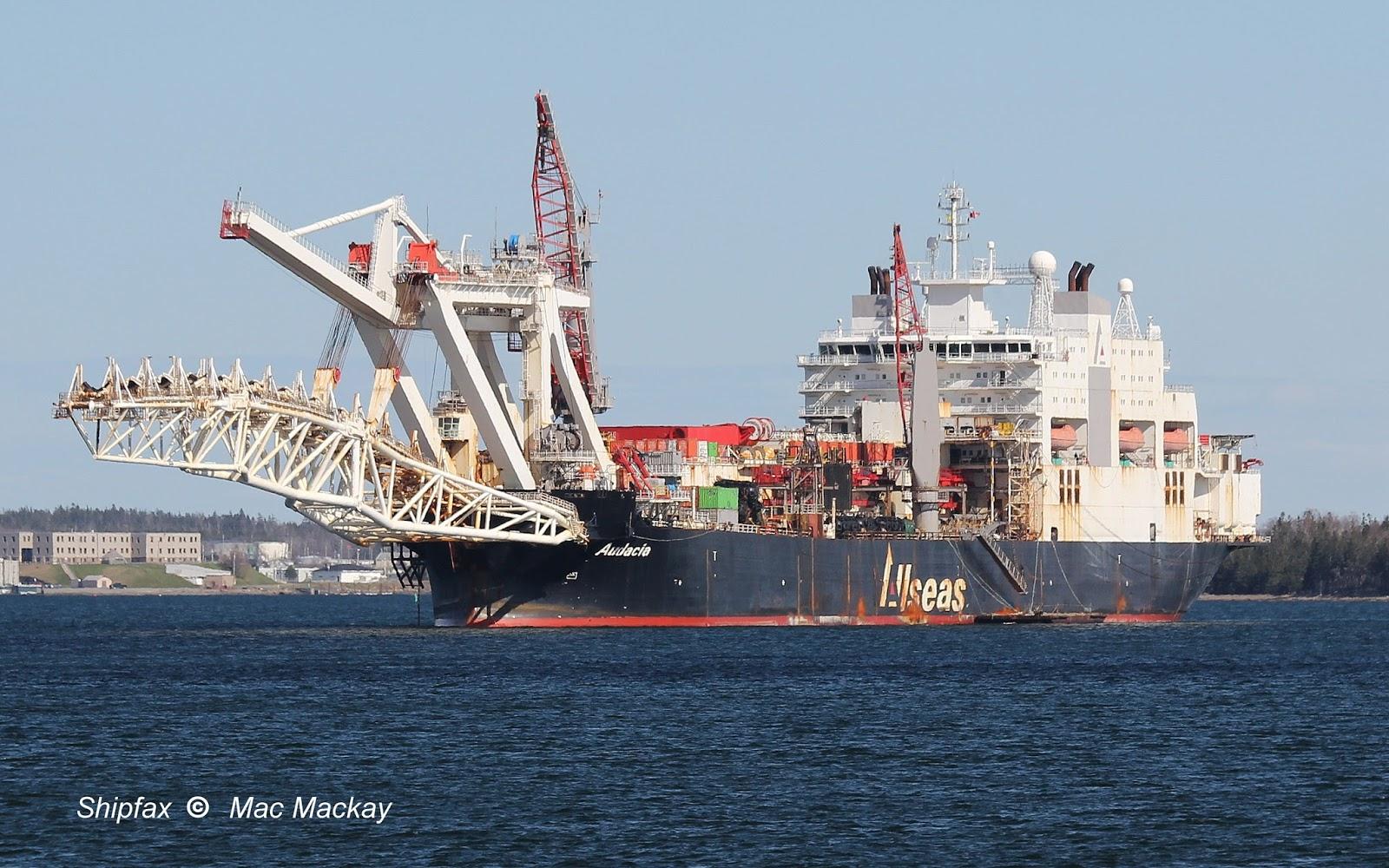 Shipfax: Audacia - unique ship