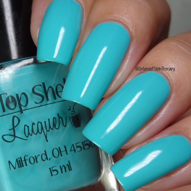 Top Shelf Lacquer - Spa Cucumber Smoothie