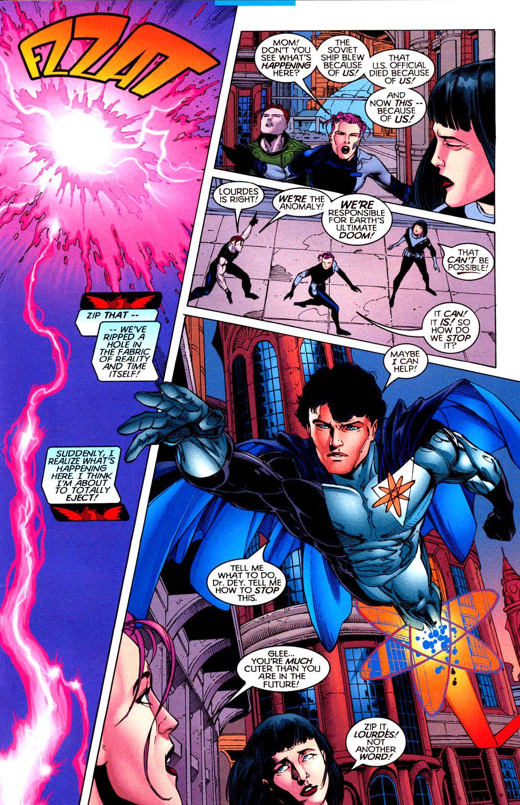 Read online Tangent Comics/ Doom Patrol comic -  Issue # Full - 34