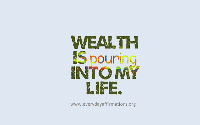 Daily Affirmations, Affirmations for Wealth