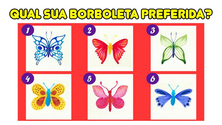 Teste: A borboleta escolhida revela algo sobre você