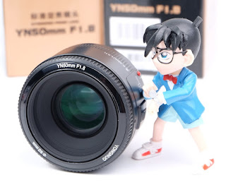 Jual Lensa YONGNUO 50mm F1.8 For CANON
