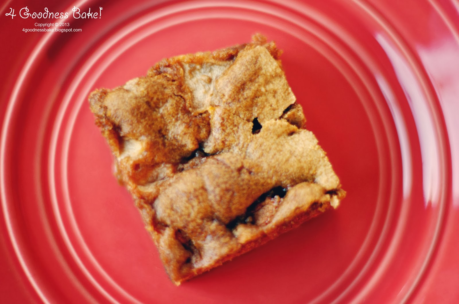 4 Goodness Bake Apple Cinnamon Cake