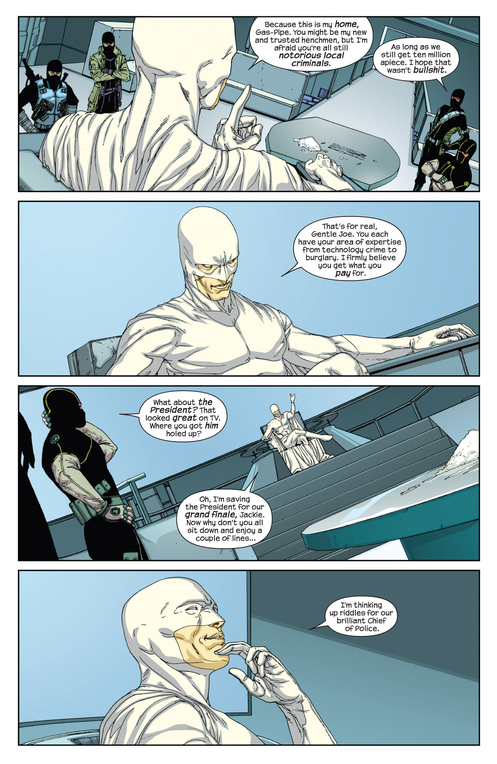 Read online Millar & McNiven's Nemesis comic -  Issue #2 - 7