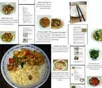 كتاب الطبخ النباتى الصينى