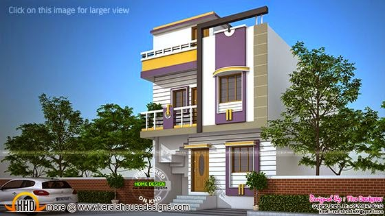 1828 sq-ft Gujarat home design