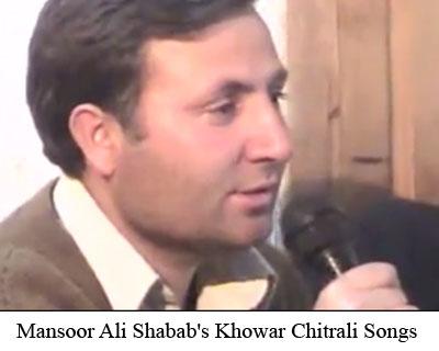 Mansoor on K2 TV ~ Chitral Songs