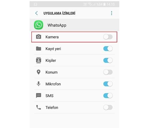 Whatsapp Goruntulu Arama Kapatmak